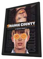 Orange County - 11 x 17 Movie Poster - Style A - in Deluxe Wood Frame