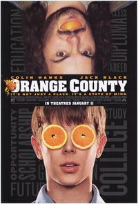 Orange County - 43 x 62 Movie Poster - Bus Shelter Style A