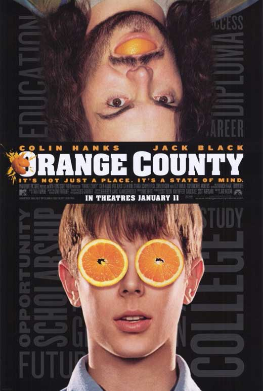 Orange County Teen Model: Orange County Movie Posters From Movie Poster Shop