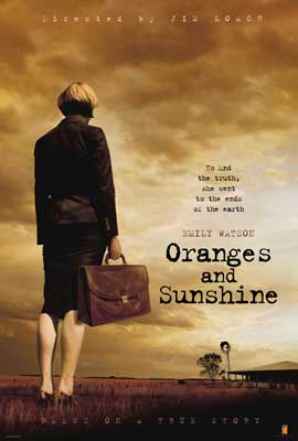 Oranges and Sunshine - 27 x 40 Movie Poster - UK Style A