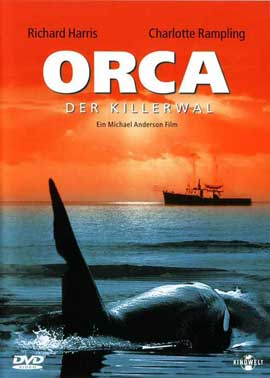 Orca - 27 x 40 Movie Poster - German Style A