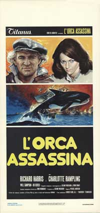 Orca - 13 x 28 Movie Poster - Italian Style A
