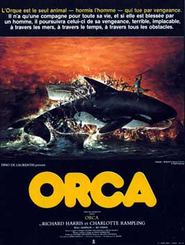 Orca - 11 x 17 Movie Poster - French Style A