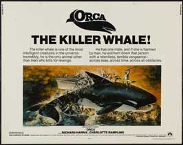 Orca - 22 x 28 Movie Poster - Half Sheet Style A