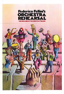 Orchestra Rehearsal - 11 x 17 Movie Poster - Style A
