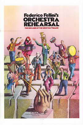 Orchestra Rehearsal - 27 x 40 Movie Poster - Style A