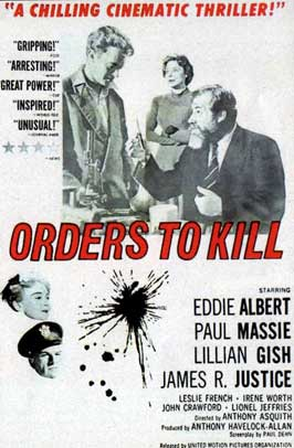 Orders to Kill - 11 x 17 Movie Poster - UK Style A