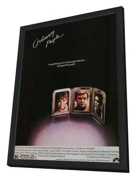 Ordinary People - 11 x 17 Movie Poster - Style A - in Deluxe Wood Frame