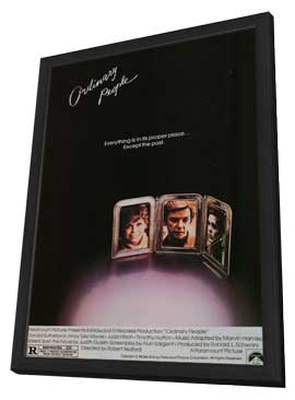 Ordinary People - 27 x 40 Movie Poster - Style A - in Deluxe Wood Frame