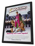 Orgazmo - 27 x 40 Movie Poster - Style B - in Deluxe Wood Frame