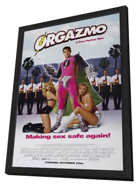 Orgazmo - 11 x 17 Movie Poster - Style B - in Deluxe Wood Frame