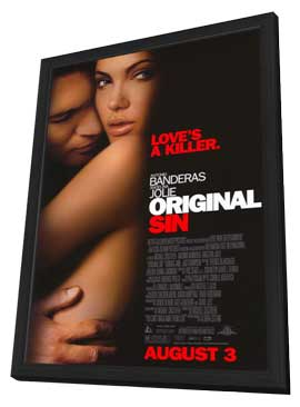 Original Sin - 11 x 17 Movie Poster - Style A - in Deluxe Wood Frame