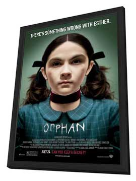 Orphan - 11 x 17 Movie Poster - Style B - in Deluxe Wood Frame