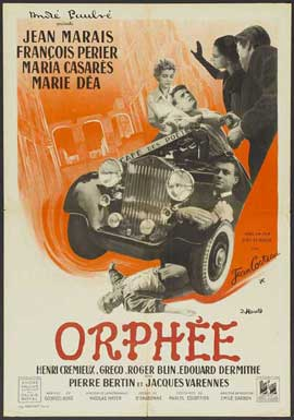 Orpheus - 11 x 17 Movie Poster - French Style A