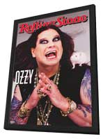 Ozzy Osbourne - 11 x 17 Movie Poster - Style A - in Deluxe Wood Frame