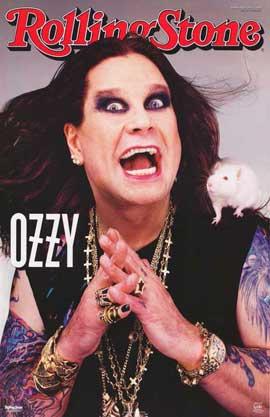 Ozzy Osbourne - 11 x 17 Movie Poster - Style A