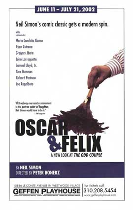 Oscar and Felix (Broadway) - 27 x 40 Poster - Style A