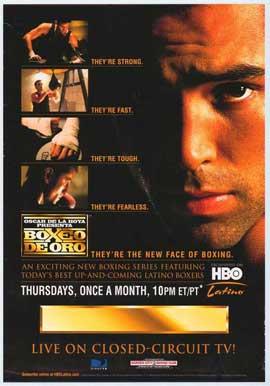 Oscar De La Hoya presents Boxeo de Oro - 27 x 40 TV Poster - Style A