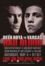 Oscar De La Hoya vs. Fernando Vargas - 11 x 17 Boxing Promo Poster - Style A