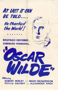 Oscar Wilde - 43 x 62 Movie Poster - Bus Shelter Style A