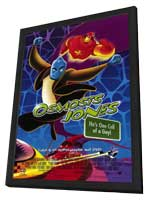 Osmosis Jones - 11 x 17 Movie Poster - Style A - in Deluxe Wood Frame
