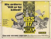 OSS 117- Mission for a Killer - 11 x 14 Movie Poster - Style B