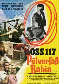 OSS 117- Mission for a Killer - 43 x 62 Movie Poster - German Style A