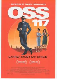 OSS 117: Cairo, Nest of Spies - 43 x 62 Movie Poster - Bus Shelter Style A