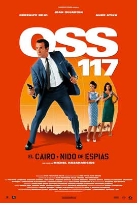 OSS 117: Cairo, Nest of Spies - 27 x 40 Movie Poster - Spanish Style A