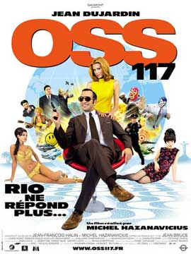OSS 117: Cairo, Nest of Spies - 11 x 17 Movie Poster - French Style A