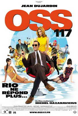 OSS 117: Rio ne Repond Plus - 27 x 40 Movie Poster - French Style A