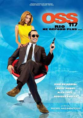 OSS 117: Rio ne Repond Plus - 11 x 17 Movie Poster - French Style B