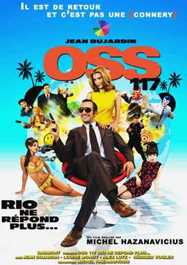 OSS 117: Rio ne Repond Plus - 11 x 17 Movie Poster - French Style C