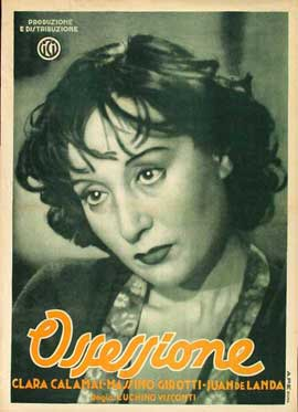 Ossessione - 27 x 40 Movie Poster - Italian Style A