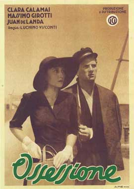 Ossessione - 11 x 17 Movie Poster - Italian Style B