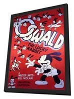 Oswald the Lucky Rabbit - 11 x 17 Movie Poster - Style A - in Deluxe Wood Frame