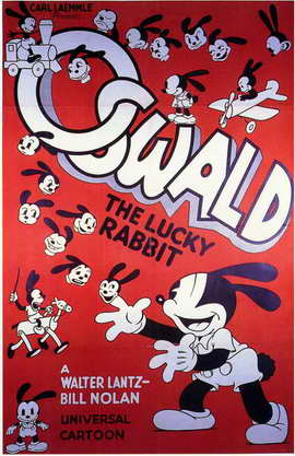 Oswald the Lucky Rabbit - 11 x 17 Movie Poster - Style A