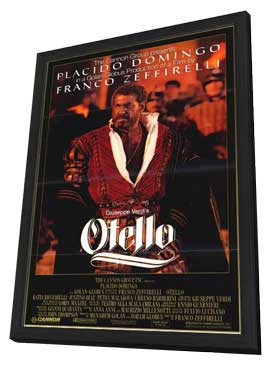 Otello - 11 x 17 Movie Poster - Style A - in Deluxe Wood Frame