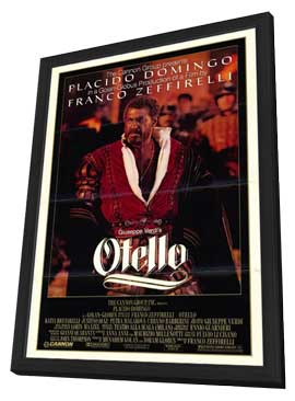 Otello - 27 x 40 Movie Poster - Style A - in Deluxe Wood Frame