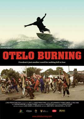 Otelo Burning - 11 x 17 Movie Poster - South Africa Style A
