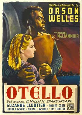 Othello - 27 x 40 Movie Poster - Italian Style C
