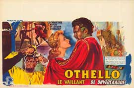 Othello - 27 x 40 Movie Poster - Belgian Style A