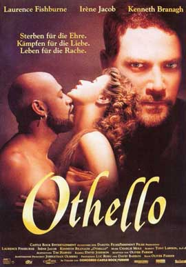 Othello - 11 x 17 Movie Poster - German Style A