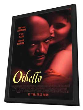 Othello - 27 x 40 Movie Poster - Style A - in Deluxe Wood Frame