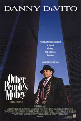 Other People's Money - 11 x 17 Movie Poster - Style A