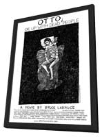 Otto; or Up with Dead People - 11 x 17 Movie Poster - Style B - in Deluxe Wood Frame