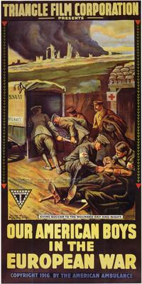 Our American Boys in the European War - 43 x 62 Movie Poster - Bus Shelter Style A