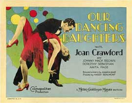 Our Dancing Daughters - 22 x 28 Movie Poster - Half Sheet Style A