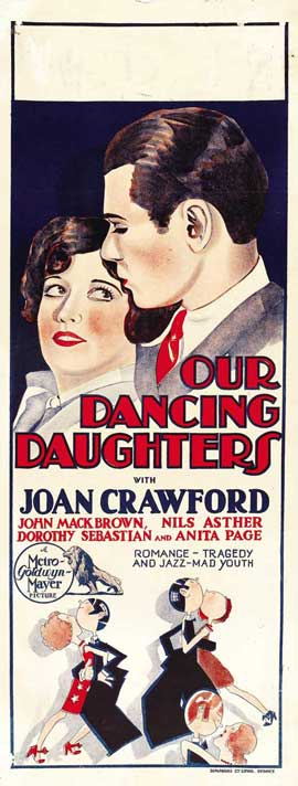 Our Dancing Daughters - 14 x 36 Movie Poster - Insert Style A