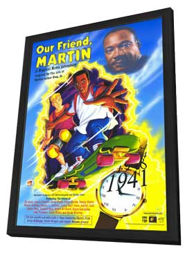 Our Friend, Martin - 11 x 17 Movie Poster - Style A - in Deluxe Wood Frame